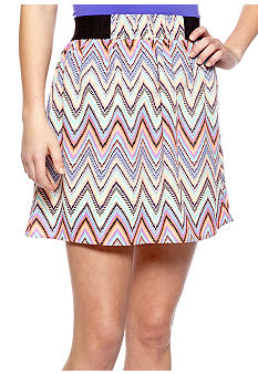 Fire Zigzag Skirt