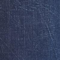 Plus Size Straight Leg Jeans: Largo Blue Melissa McCarthy Seven7 Plus Size Straight Leg Roll Cuff Jeans