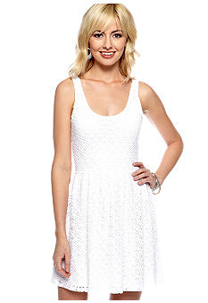 Eight Sixty Eyelet Tank Dress