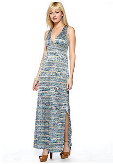 Eight Sixty Space Dye Maxi Dress