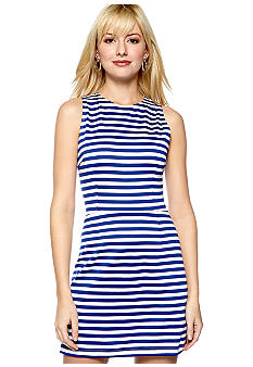 Eight Sixty Stripe Ponte Dress