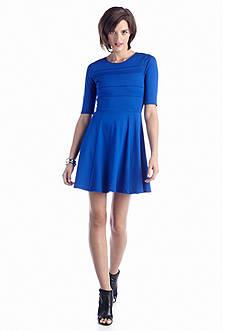 Eight Sixty Ponte Elbow Sleeve Dress