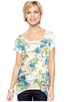 Jane Ashley Shark Bite Sublime Top