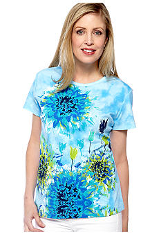 Jane Ashley Garden Tye Dye Top