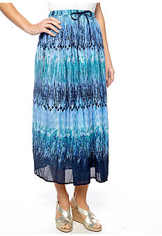 Jane Ashley Brook Stick Print Skirt