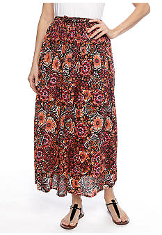 Jane Ashley Printed Brook Stick Skirt