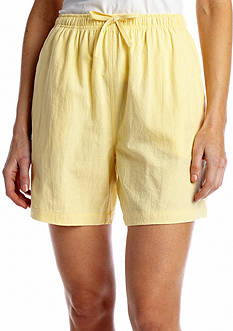 Jane Ashley Sheeting Short