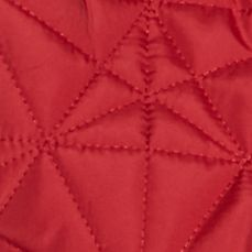 Petite Coats: Red Mercury Jane Ashley Petite Zip Front Web Stitch Vest