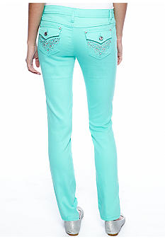 Earl Jean Bling Back Pocket Skinny Jean