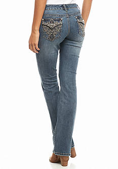 Earl Jean Wing Bling Flap Pocket Boot Jeans