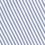 Sharagano: Blue/White Sharagano Stripe Ruffle Top