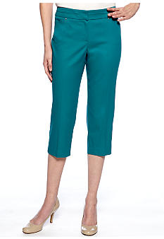Sharagano Twill Crop Pant