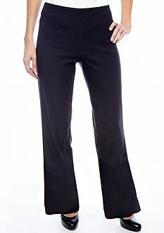 Sharagano Pull On Career Pant - Short Length