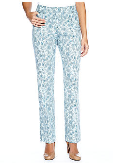 Sharagano Printed Denim Pant