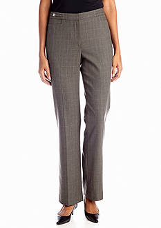 Sharagano Toledo Slim Plaid Pant
