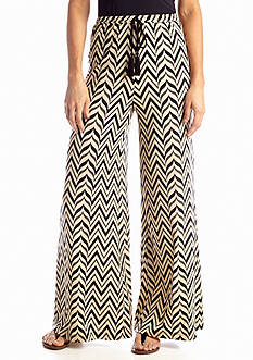 Sharagano Chevron Tie Soft Pant