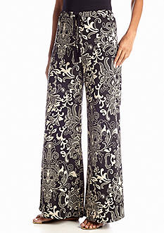 Sharagano Scroll Print Soft Pant
