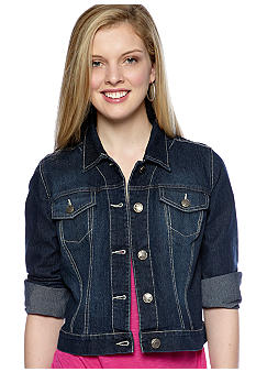 Nine West Vintage America Collection Hazen Denim Jacket