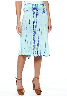 Nine West Vintage America Collection Tie Dye Knit Skirt