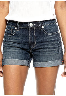 Nine West Vintage America Collection Vintage Roll Cuff Denim Short