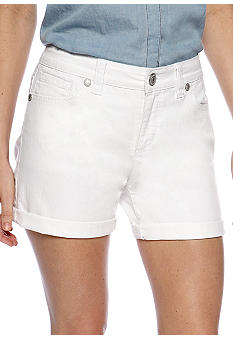 Nine West Vintage America Collection Five Pocket Cuffed Vintage Denim Short