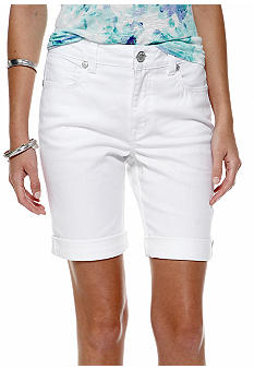 Nine West Vintage America Collection Cuffed Bermuda Short