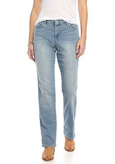 Vintage America Blues Boho Straight Leg Jeans
