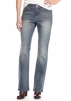 Vintage America Blues Boho Bootcut Denim Jeans