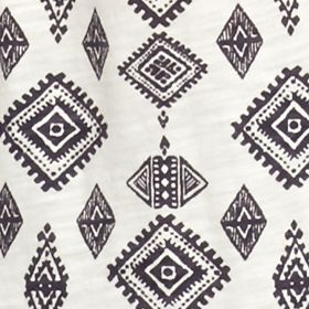 Women's T-shirts: Adriatic Tile Vintage America Blues Jelena Tee