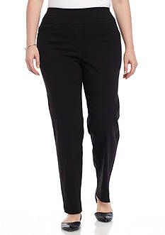 Ruby Rd Plus Size Millennium Pull-On Pant