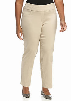 Ruby Rd Plus Size Air Pull-On Tech Stretch Pants