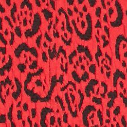 Ruby Rd Women Sale: Red Ruby Rd Cheetah Print Jacket Vest