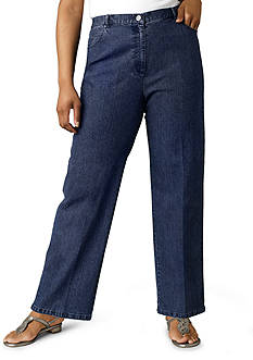 Ruby Rd Plus Size Key Item Collection Stretch Denim
