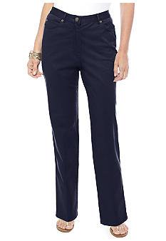 Ruby Rd Petite Key Item Twill Pant