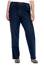 Ruby Rd Plus Size Singing The Blues Classic Jean