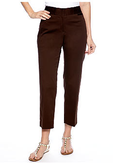 Ruby Rd The Great Escape Sateen Ankle Pant