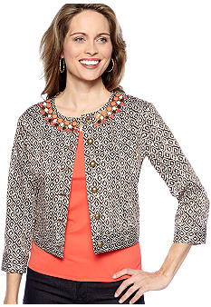 Ruby Rd The Great Escape Ikat Sateen Jacket