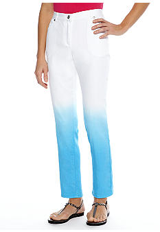 Ruby Rd Eye Candy Dip Dye Ankle Denim