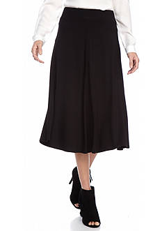 Ruby Rd Modern Knits Pullover Solid Knit Skirt