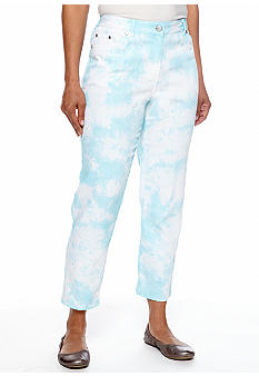 Ruby Rd Powder Play Tie Dye Ankle Pant