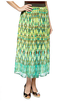 Ruby Rd Calypso Ikat York Skirt