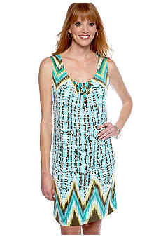 Ruby Rd Calypso Embellished Sleeveless Dress