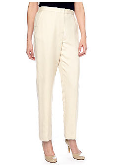 Ruby Rd Shell Party Linen Slash Pocket Pant