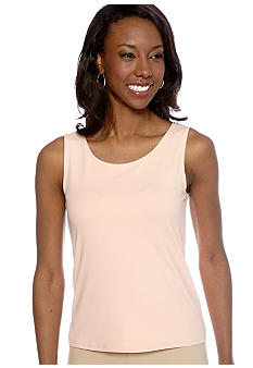 Ruby Rd Shell Party Sleeveless Jersey Shell