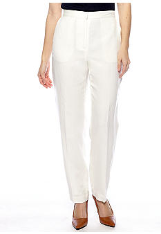 Ruby Rd Petite Shell Game Linen Pant