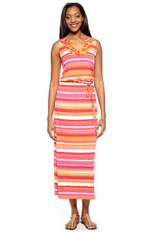 Ruby Rd High Voltage Sleeveless Maxi Dress
