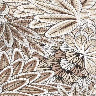 Ruby Rd Women Sale: Sand Multi Ruby Rd Must Haves Embellished Printed Tee