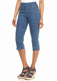 Ruby Rd Key Items Denim Capris