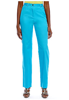 Ruby Rd Favorite Side Elastic Stretch Twill Pant