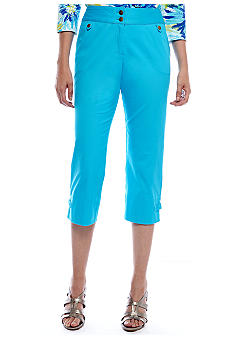 Ruby Rd Favorite Twill Capri